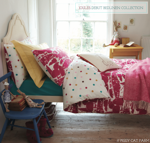 Touch Rugby Paisley: Sneak Peek: Joules' Debut Bedding Collection
