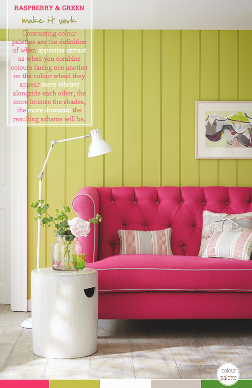 How To Wow With A Contrasting Colour Palette - Bright Bazaar by Will ...