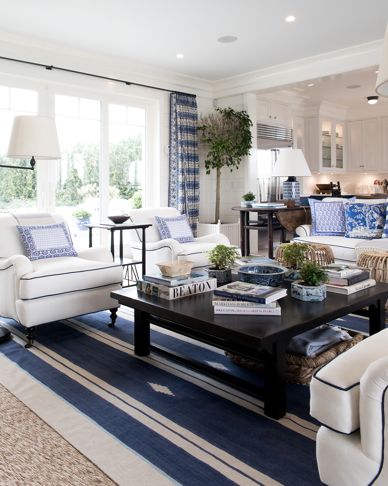 Blue White Home Decor Inspiration 5 Bright Bazaar By Will Taylor