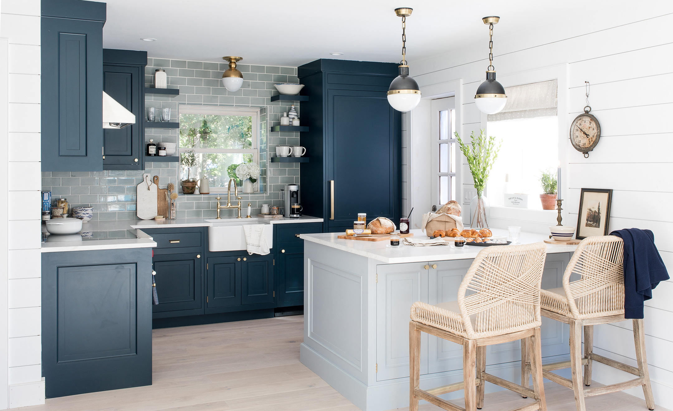design house kitchens.  Our Beach House Kitchen The Reveal Bright Bazaar By Will Taylor